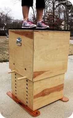 TrendyToolbox: ADJUSTABLE WOODEN PLYO BOX