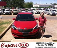 #HappyAnniversary to Diane Rice on your 2014 #Kia #Forte from Christian Lundell at Capitol Kia!