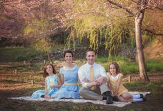 Cherry Blossom, What to Wear, family session, Suzanne C. Photography