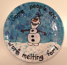 Who doesn't love Olaf?!?! www.crockadoodle.com