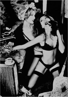 Helmut Newton - my fave photographer of all time!