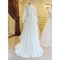 New wedding dress vintage simple boho 40 ideas Muslimah Wedding Dress, Popular Wedding Dresses, Muslim Wedding Dresses, Top Wedding Dresses, Formal Dresses, Abaya Mode, Dress Outfits, Fashion Dresses, Hijab Dress