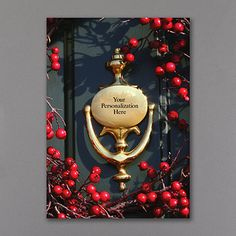 Golden Glimmer Personalized Holiday Cards http://bustlingbride.carlsoncraft.com/Holiday/Shop-All-Holiday/YM-YM6641FC-Golden-Glimmer.pro business realtor Christmas cards
