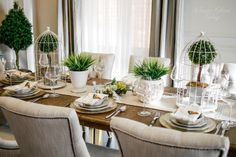 Casual dining table setting centerpiece   Coffee Theory of Tablescape   Classy Glam Living