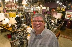 Marc Ball, owner of The Gilded Lily in downtown Wenatchee, Wash.