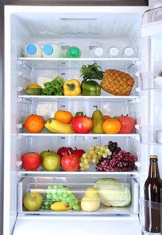 Take a picture of the contents of your fridge before you go grocery shopping. | 17 Insanely Clever Ways To Use Your Phone's Camera
