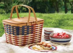 Summer is for picnics with Longaberger. It's that simple.
