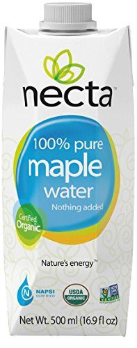 NECTA 100% pure organic maple water - 16.9 fluid once (12 pack) *** Learn more by visiting the image link.