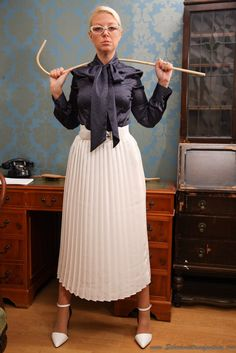 Properly attired Christian governess