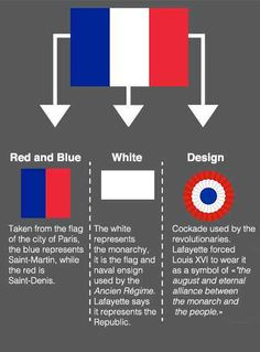 'A brief history of the Three color flag of the French Republic, created after the French Revolution.'WORLD HISTORY World Country Flags, Flags Of The World, History Of Flags, French Flag Colors, Map Symbols, Early Childhood Centre, France Flag, Gernal Knowledge, French Lessons