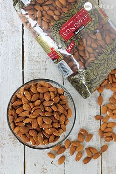 Roasting your own almonds is so simple, and it will save you quite a bit of money too!