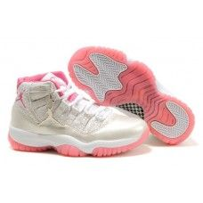 a3ee4f2eacc4 Womens Air Jordan 11 Retro shoes Gray White Red