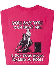 Cowboys Unlimited™ Ladies' Raised a Fool Tee :: Tee :: Shirts :: Ladies :: Fort Western Online