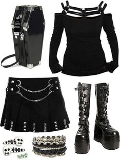 ☮✿★ GOTH GIRL FASHION ✝☯★☮ RebelsMarket