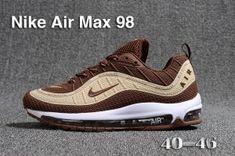 e5f1ba65996 Mens Nike Air Max 98 QS KPU Beige Brown White 640744 068 Athletic Sneakers  Mens Running