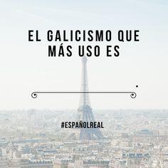Qué galicismos sueles usar?  Completa esta oración   #EspañolReal #galicismos #extranjerismos #RealSpanish