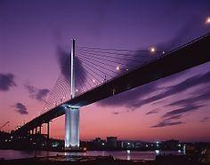 Arato Bridge, Fukuoka, Japan