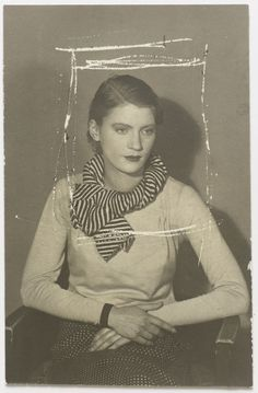 Lee Miller, by Man Ray -- Again with the cropping! It's quite the revelation/surprise.