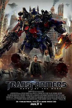 Transformers: Dark of the Moon 27x40 Movie Poster (2011)