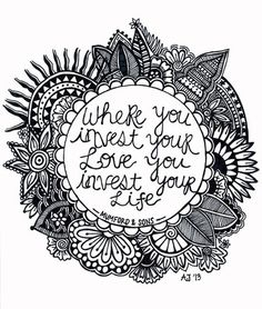 ☮ American Hippie Psychedelic Quotes ~ Life - Music Lyrics, Mumford & Sons - Coloring Page Art
