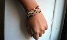 All The Good Girls Go To Heaven: ☩DIY☩ Bead Loom Bracelet