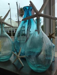 totally turquoise bottles...beautiful