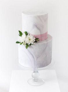 Marble & Blush Wedding Inspiration Board | SouthBound Bride | http://southboundbride.com/inspiration-board-marble-blush | Credit: Sweet Bakes