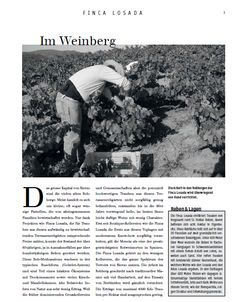 Für die Losada-Weine selektionierte der Önologe Amancio Fernández erstmals auch Rebgärten mit Lehmböden. Das Ergebnis is beenindruckend.