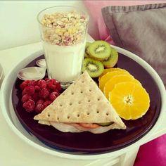 Nada como un desayuno sano y completo para comenzar el día con grandes saltos