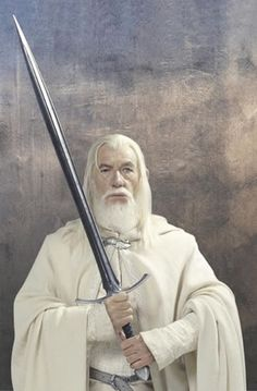 """""""End? No, the journey doesn't end here. Death is just another path... One that we all must take. The gray rain curtains of this world rolls back... And all turns to silver glass. And then you see it.. White shores and beyond. A far green country under a swift sunrise...."""" -Gandalf the White"""