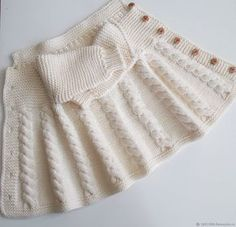 Clothes for Girls handmade. My Livemaster.Manual work of authorship, beanie knitted Clothes for Girls handmade. My Livemaster.Manual work of authorship, beanie knitted Ladies Cardigan Knitting Patterns, Knitted Baby Cardigan, Baby Pullover, Baby Knitting Patterns, Big Knit Blanket, Big Knits, Baby Sweaters, Comfortable Outfits, Baby Dress