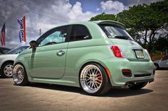 Fiat 500 all the way from Italy