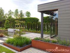 Moja codzienność  - ogród oli Contemporary Garden Design, Outdoor Living, Pergola, Outdoor Structures, Patio, The Originals, House, Outdoor Life, Home