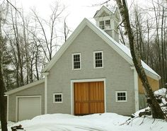 Custom timber frame barn maine timber frame barns houses for Maine post and beam kits