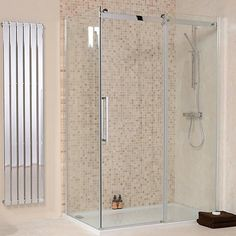 1200 x 900 Aquafloe Elite 8mm Sliding Shower Enclosure (better Bathrooms)