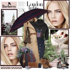"""London lights"" by helleka on Polyvore"