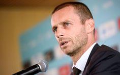 Europe deserves to host 2030 World Cup – UEFA president   By AFP            Slovenian Aleksander Ceferin/ AFP PHOTO / Jure MAKOVEC    Euro...