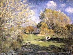 Alfred Sisley - The Park