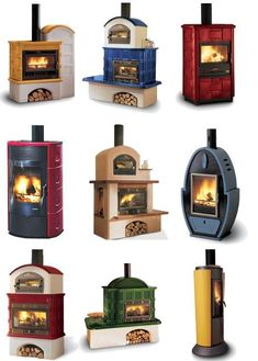 gialla... perfetta!!! Woodstove for bedroom? Love these, too. Almost works of art.