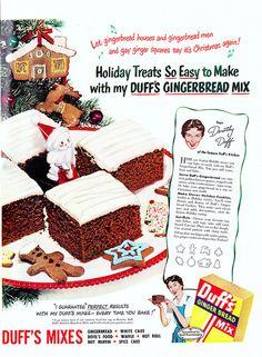 Delightful holiday sweet treats from 1950.