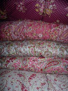 The beautiful pink patterns. My favorite.