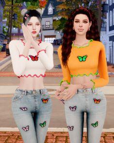 Tumblr Sims 4, Cute Buns, Hair Png, Sims 4 Mm Cc, Sims 4 Game, Female Clothing, Sims 4 Mods, Ts4 Cc, Places