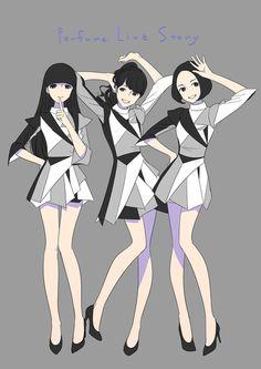 「Perfume Live STORY」/「森倉円」のイラスト [pixiv]