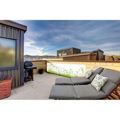 Décoration pour terrasse Garden Deco, Terrace Garden, Diy Jardin, Outdoor Furniture Sets, Outdoor Decor, Sun Lounger, Html, Gardening, Home Decor