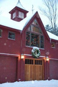 Dear Santa....I've been a very good girl! Dream Barn... without the snow... :0)