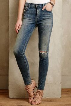 Citizens of Humanity Rocket High Rise Skinny Jeans - anthropology