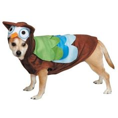 Aus der Kategorie Verkleidungen & Kostüme  gibt es, zum Preis von EUR 81,43  Size Large Fits Pets up to 20 Inches in Length;Features Velcro closures at neck, belly, and waist for added comfort;Multicolor fabric and hood complete with eyes, ears, and beak
