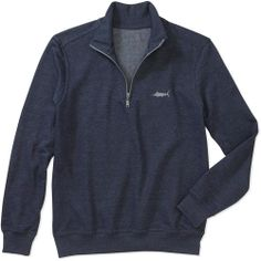 Panama Jack Men's 1/4 Zip Fleece Knit .  $14.97