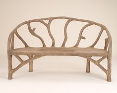 Picture of Faux Bois Arbor Bench