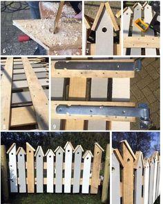 Findest Du Deinen Gartenzaun Auch Etwas Langweilige? Dann Pimpe Deinen Zaun  Mit Diesen 16 Kreativen. Garden Ideas!